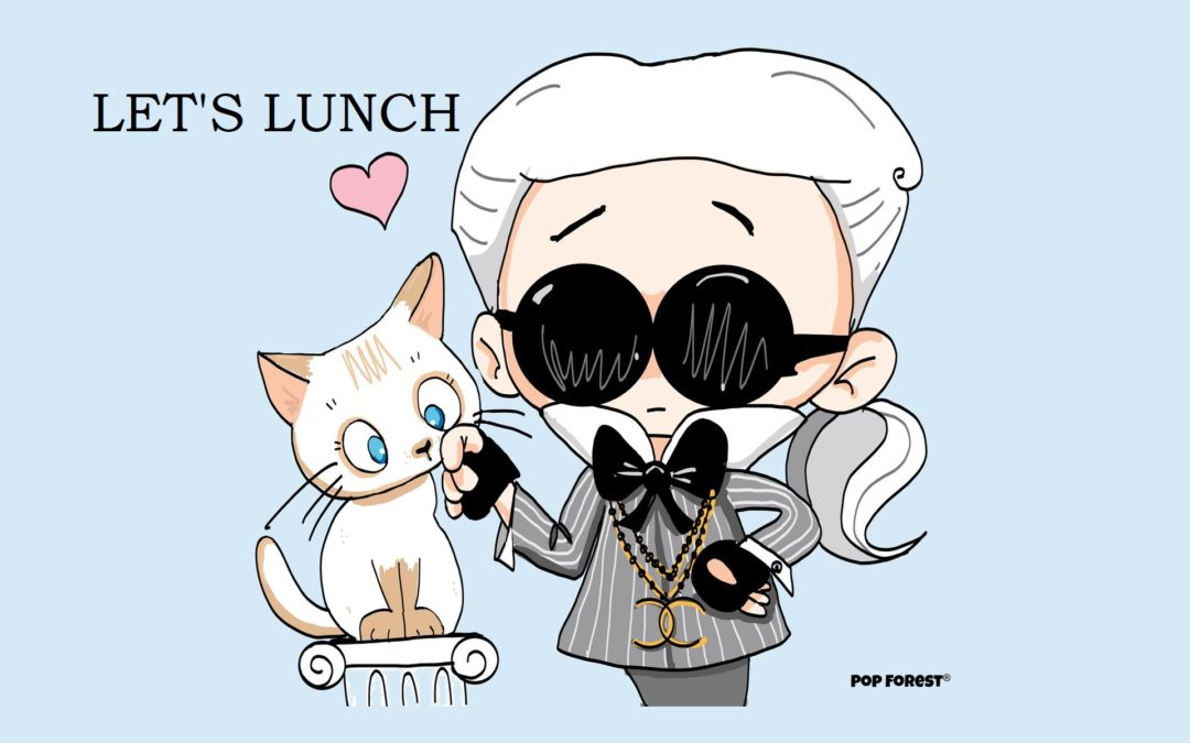 Lifestyle Business Lunch – Karl Lagerfeld theme