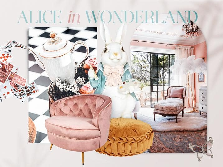 Lifestyle Business Brunch Theme Alice in Wonderland